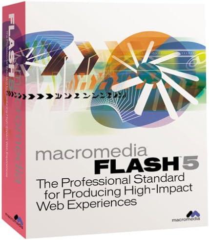 Amazon Com Macromedia Flash 5 Upgrade For Windows