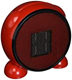 e-joy LEDMart Portable Space/Desktop Heater, Red