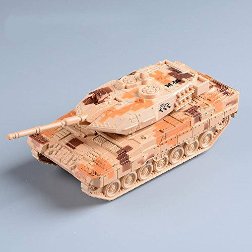 Pansupply 1:32 The alloy tank model kids toys main battle tanks for boys with pull back flashing (Helium Tank Refill)