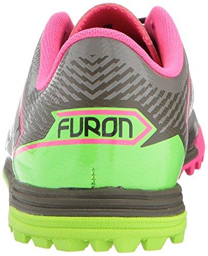 furon 3.0Kinder Versand TF Fußball Turnschuhe–Military Dark Triumph Grün/Alpha pink Grün