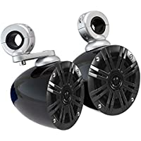 (2) Kicker 41KM44CW 4 Rollbar Speakers For Motorcycle/ATV/UTV/Cart