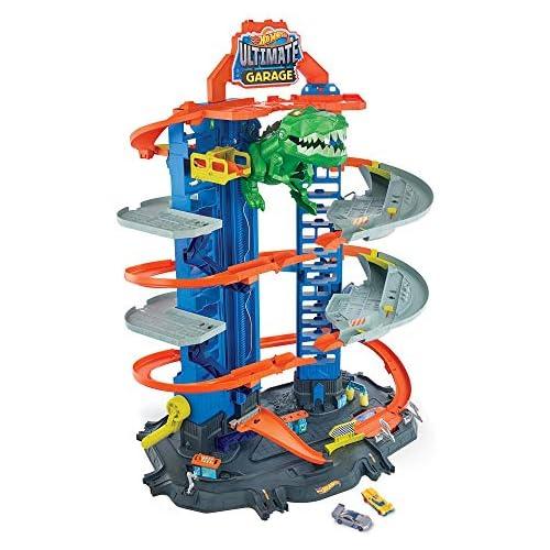 chollos oferta descuentos barato Hot Wheels Ultimate Garage garaje y pista para coches de juguete Mattel GJL14
