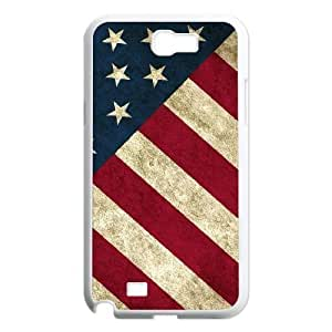 American Flag Original New Print DIY Phone Case for Samsung Galaxy Note 2 N7100,personalized case cover ygtg-774370 hjbrhga1544