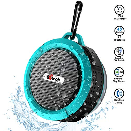 Wireless Bluetooth Speaker,Outdoor Portable Speaker with Stereo HD Audio and Enhanced Bass,Dual -