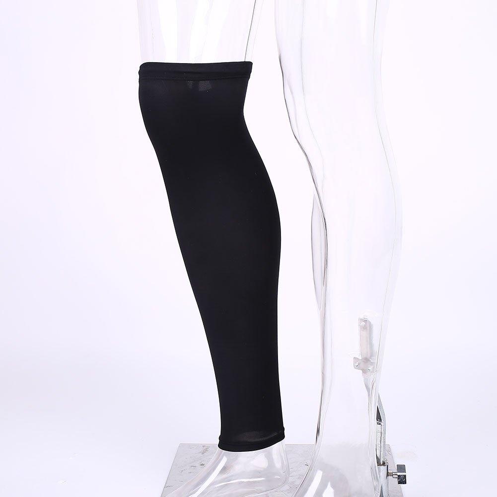 JWBOSS Tapis de genouillères genou jambe Compression de protection Football Étirement du mollet Brace Basket Sport Acces Forfar