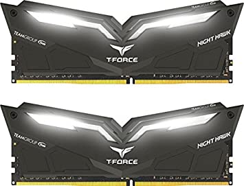 Team Group T-Force Nighthawk White LED DDR4-3200 CL16 16 GB Internal Memory  Kit