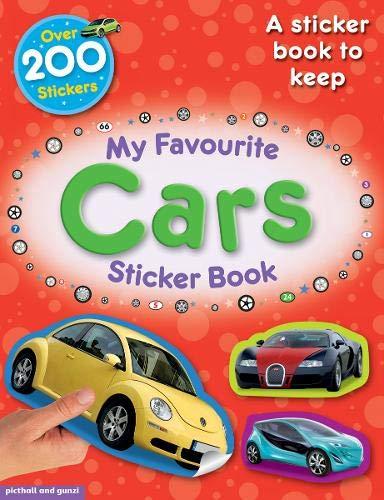 My Favourite Cars Sticker Book (My Favourite Sticker Books)