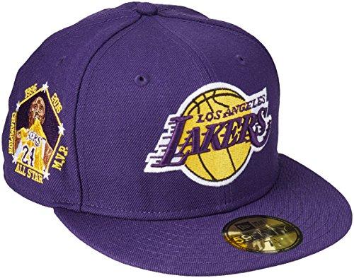 ec83366f1 New Era 59Fifty NBA Hat Los Angeles Lakers Kobe Bryant All Star Champion  Purple Fitted Cap (7 1/2)