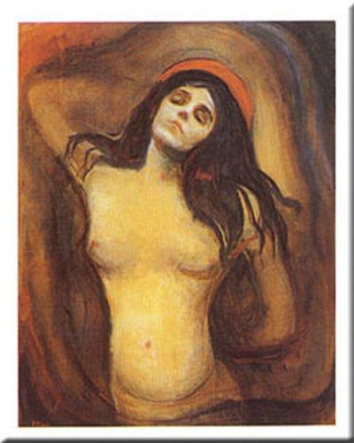 Buyartforless Madonna by Edvard Munch 31x24 Art Print -