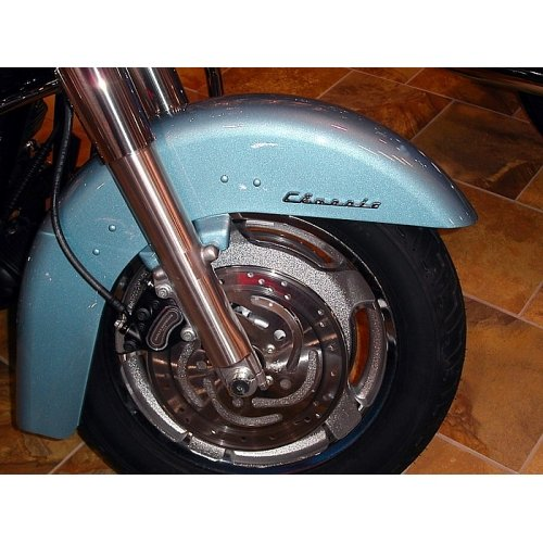 Motorcycle Fender//Saddlebag Emblems Classic Emblem Pair