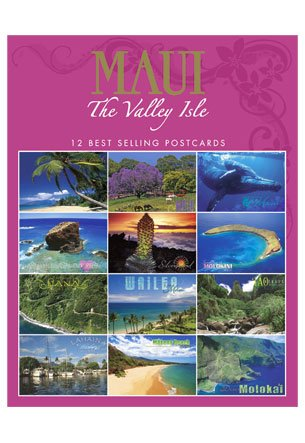 Maui the Valley Isle 12-pack Assorted Postcards