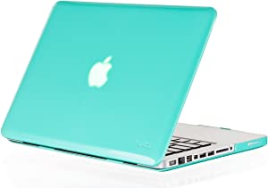 """Kuzy - 15inch Teal / Turquoise HOT Blue Crystal Hard Case for NEW Macbook PRO 15.4"""" (A1286) Aluminum Unibody Cover SeeThru"""