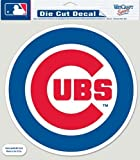 "MLB Chicago Cubs 87132010 Perfect Cut Color Decal, 8"" x 8"", Black"