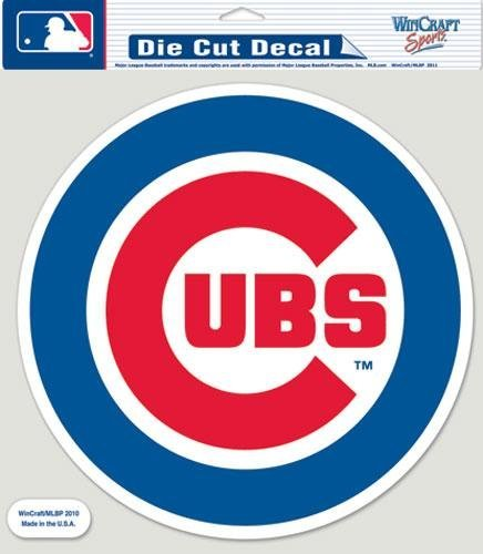 Wincraft MLB Chicago Cubs 87132010 Perfect Cut Color Decal, 8