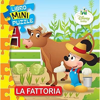 La Fattoria Disney Baby Libro Mini Puzzle