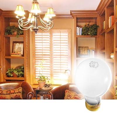 Long-Life 20,000 Hours 75-Watt Frosted Light Bulbs (6-pack)