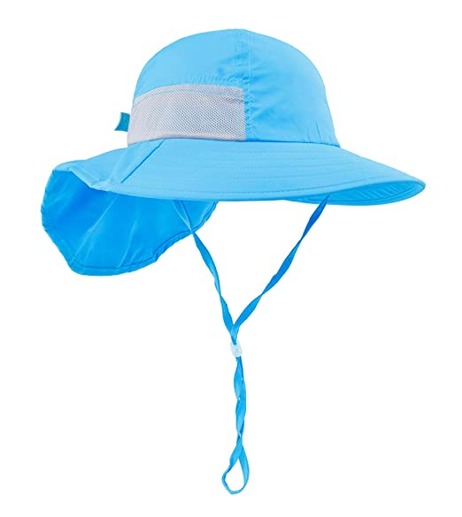 52a36067 Baby Hiking hat Beach Hats for Kids Outdoor Activities UV Protecting Sun  Hats with Neck Flap