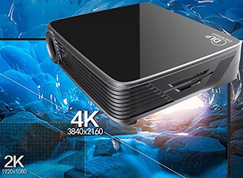 MDI Deeirao DLP Home Theater Projector Mini Portable Andr...