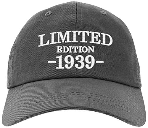 Cap 1939-80th Birthday Gifts, Limited Edition 1939 All