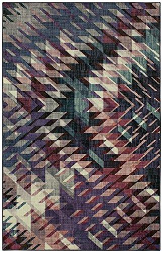 Mohawk Precision Printed Prismatic Splice Area Rug, 5'x8', Purple