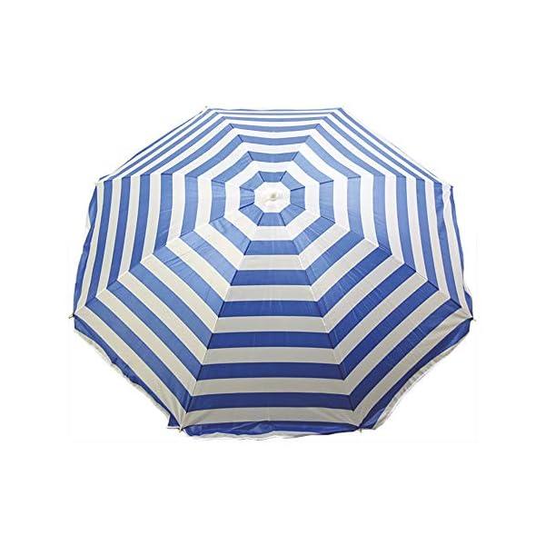 Ombrellone da spiaggia, 180 cm, modello Mediterraneo EDM 2 spesavip