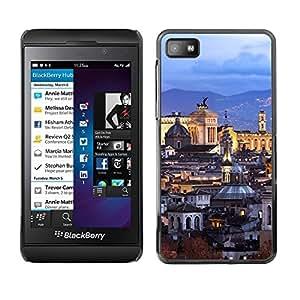 Be Good Phone Accessory // Dura Cáscara cubierta Protectora Caso Carcasa Funda de Protección para Blackberry Z10 // Old City Architecture Church
