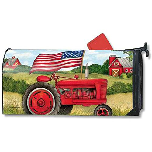 Mailwraps Stars (MailWraps Patriotic Tractor Mailbox Cover 01504)