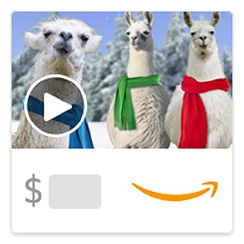 Amazon eGift Card - Fa La La Llamas (Animated) [American Greetings]