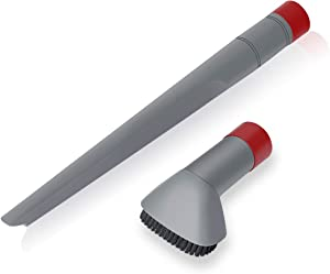 LANMU Crevice Tool and Dust Brush for Shark Rotator Professional Lift-Away Vacuum Cleaner, Fits Models NV500, NV501, NV560 Compare to Part No. X11FC500
