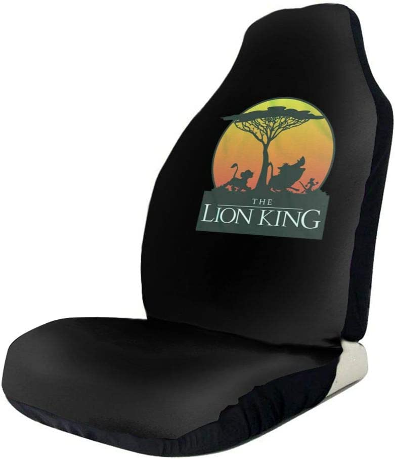 SUV Or Van DUDBFGG Lion King Sunset Pride Universal Full Set Automatic Seat Cover Fit Most Car Truck