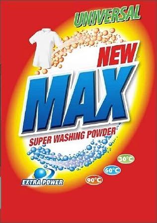 Waschmittel NEW MAX 8kg Aktiv Power 30,60,95°, Waschpulver ...