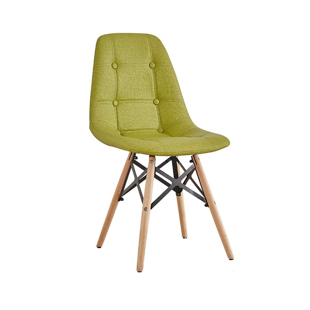 A JU FU Chair Creative Modern Minimalist Study Office Chair Backrest Lounge Chair - Multi-color Optional (Size  50X40X82cm) @@ (color   G)