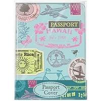 Funda para pasaporte retro estupenda con diseño