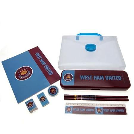 6bc2897fcbe9 West Ham United Stationary Set  Amazon.co.uk  Kitchen   Home