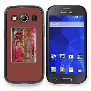 Stuss Case / Funda Carcasa protectora - Acuarela minimalista del cartel - Samsung Galaxy Ace Style LTE/ G357