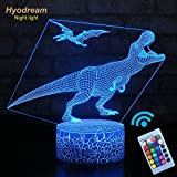 Hyodream Dinosaur Lamp,Dinosaur Night Light Kids Night Light,16 Colors...