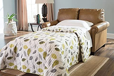 Ashley Furniture Signature Design - Lottie DuraBlend Sleeper Sofa Bed - Twin Sized Pull Out Couch - (Twin Sleepers)