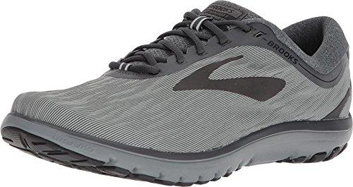 Brooks Mens PureFlow 7 - Grey/Grey/Black - D - 12.0