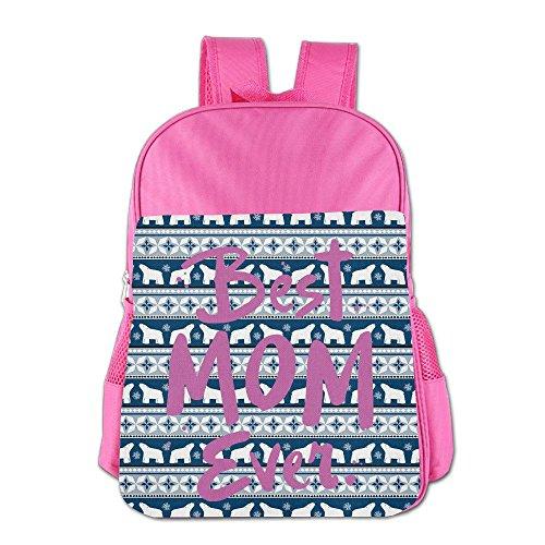 Price comparison product image Mnxdine Kids' School Bag Best Mom Ever Backpack