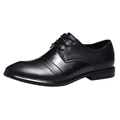 Abby 15003 Mens Bussiness Shoes Lace up Fashion Casual Wedding Brogues Formal Dress Leather