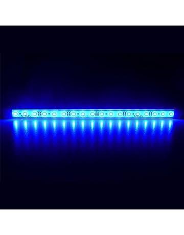 LTRGBW 5730 SMD 12V DC 18LEDs 7.2W super brillante luz azul acuario LED Franja de