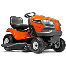 """Husqvarna 960430212 YTA22V46 22V Fast Continuously Variable Transmission Tractor Mower, 46""""/Twin"""