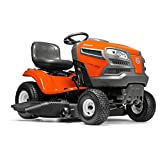 Husqvarna 960430212 YTA22V46 22V Fast Continuously Variable Transmission Tractor Mower, 46