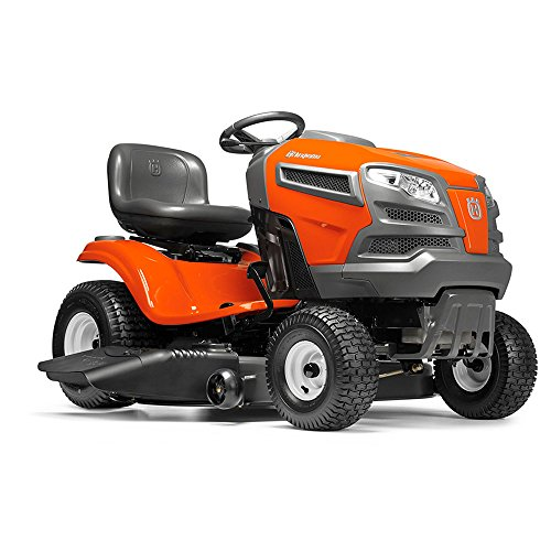 Husqvarna 960430212 YTA22V46 22V Fast Continuously Variable Transmission Tractor Mower, 46'/Twin