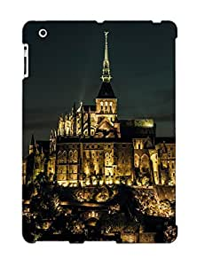 Case For Ipad 2/3/4 Tpu Phone Case Cover(mont Saintmichel France) For Thanksgiving Day's Gift