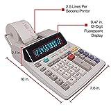 Sharp EL-1801V Two-Color Printing Calculator 2.1