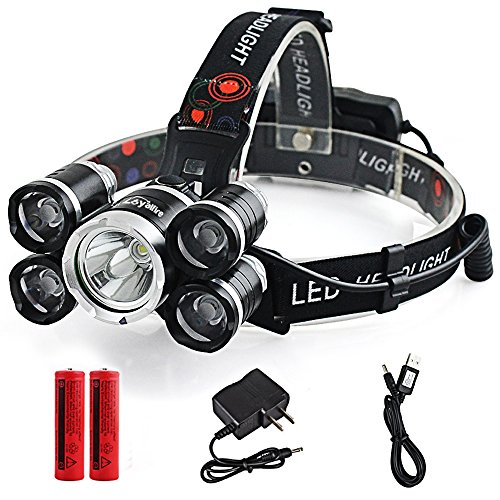 Led 4 Mode Headlamp Light Torch Camping Flashlight - 7
