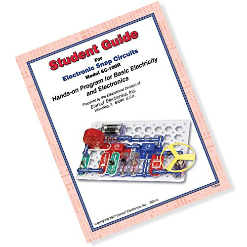 Snap Circuits Jr. Student Guide - Hands on Program for Basic Electricity and Electronics by Snap Circuits ®