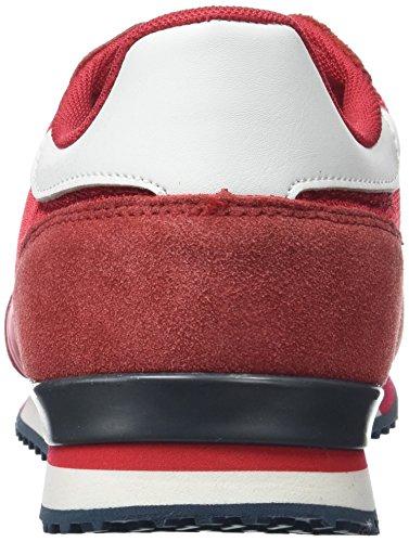 Pepe Jeans London Tinker Bold, Zapatillas para Hombre Rojo (Francois Red)