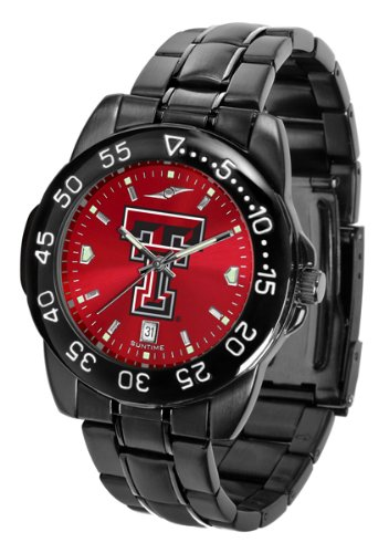 Texas Tech Red Raiders Fantom Sport AnoChrome Men's Watch